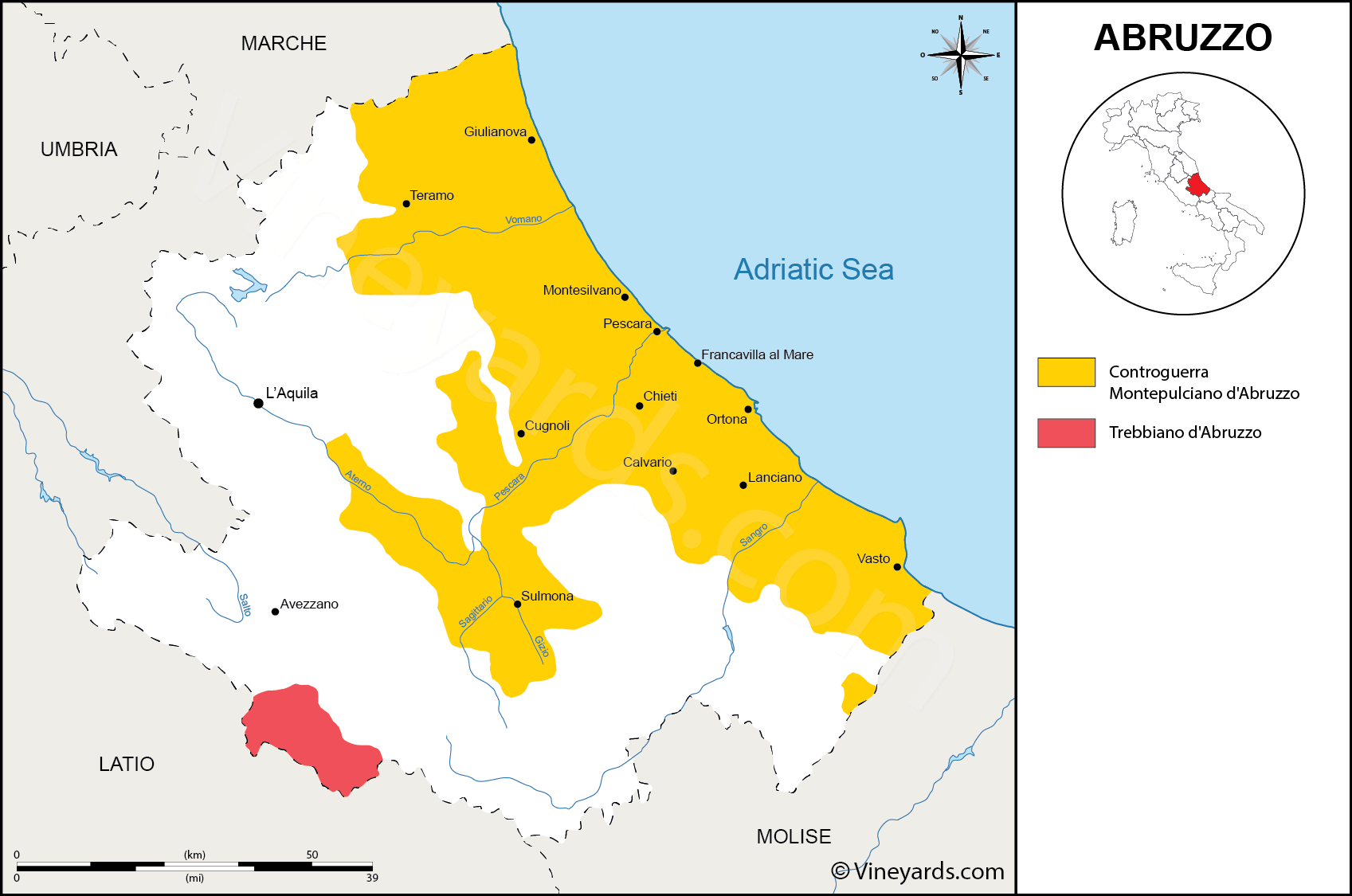 Wine Regions in Abruzzo