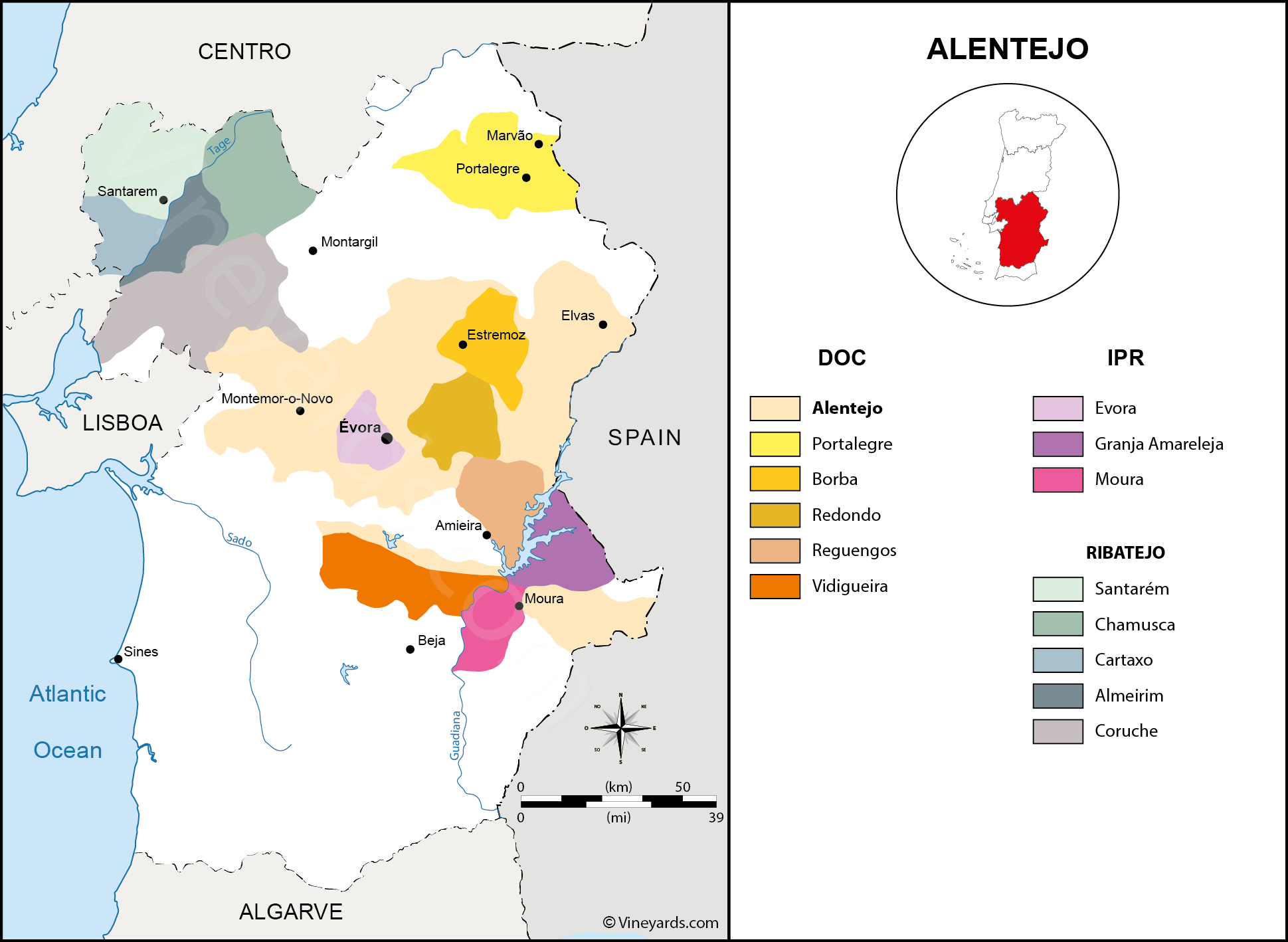 Wine Regions in Alentejo
