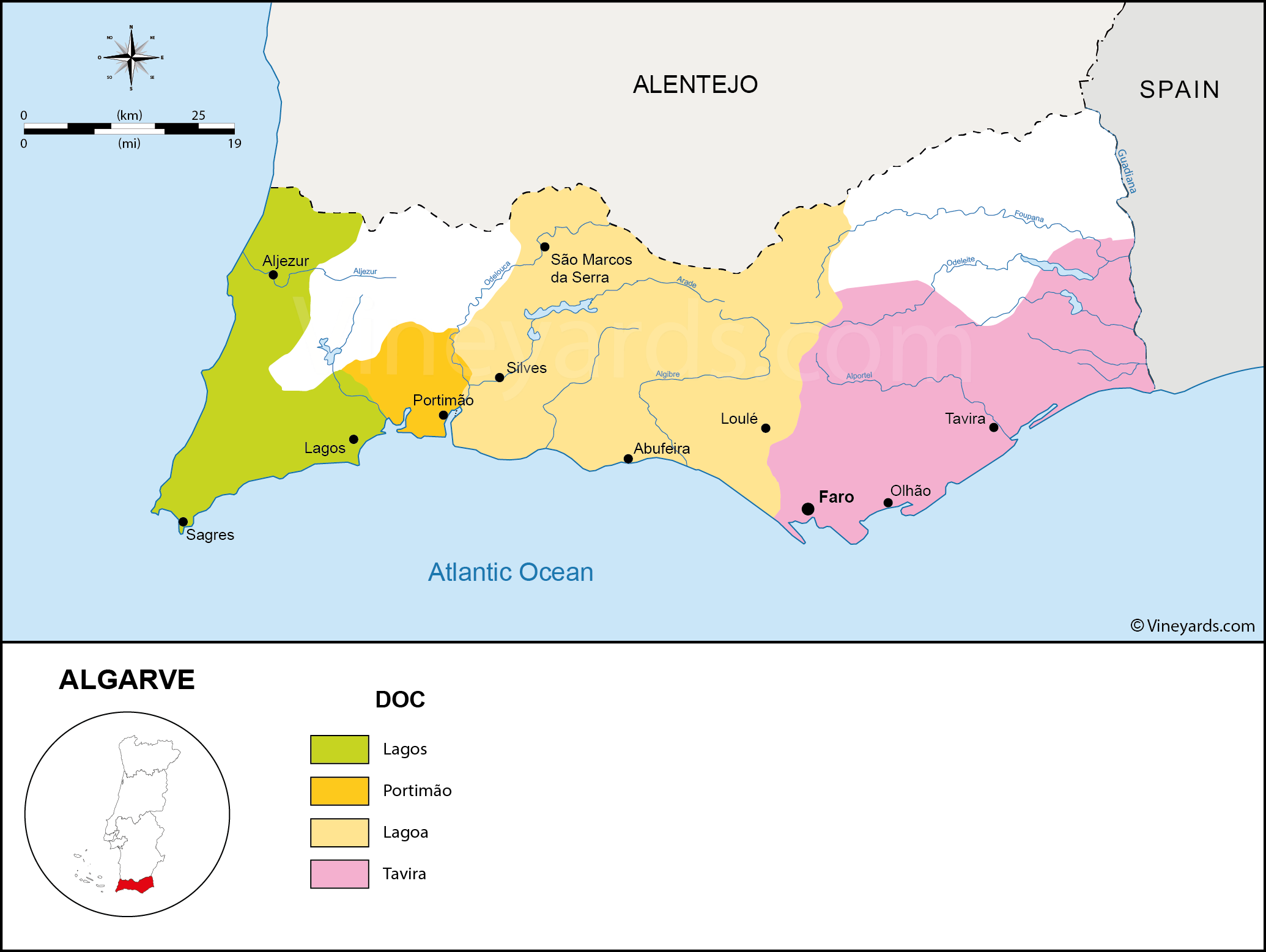 Wine Regions in Algarve