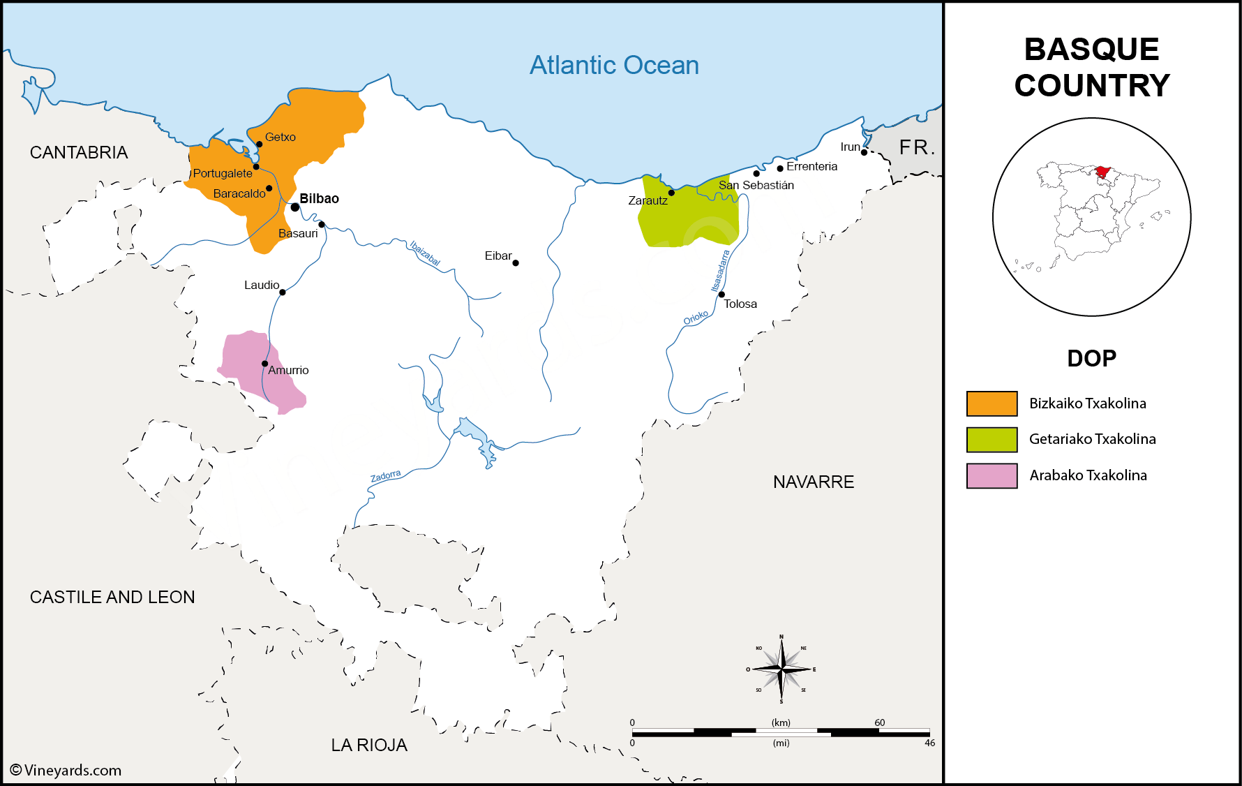 Wine Regions in Basque Country