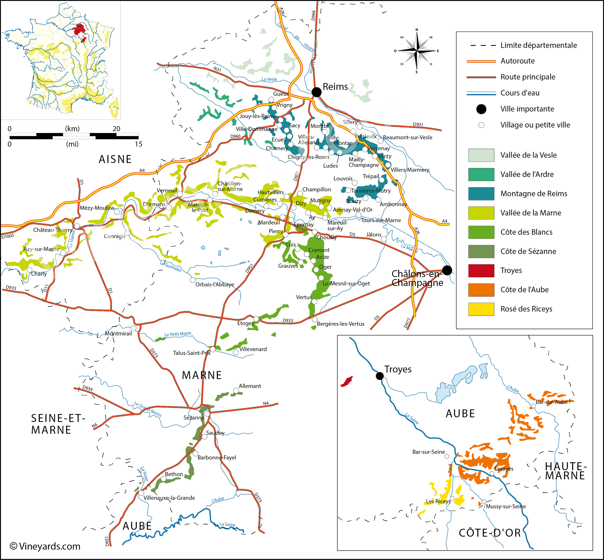 Wine Regions in Champagne
