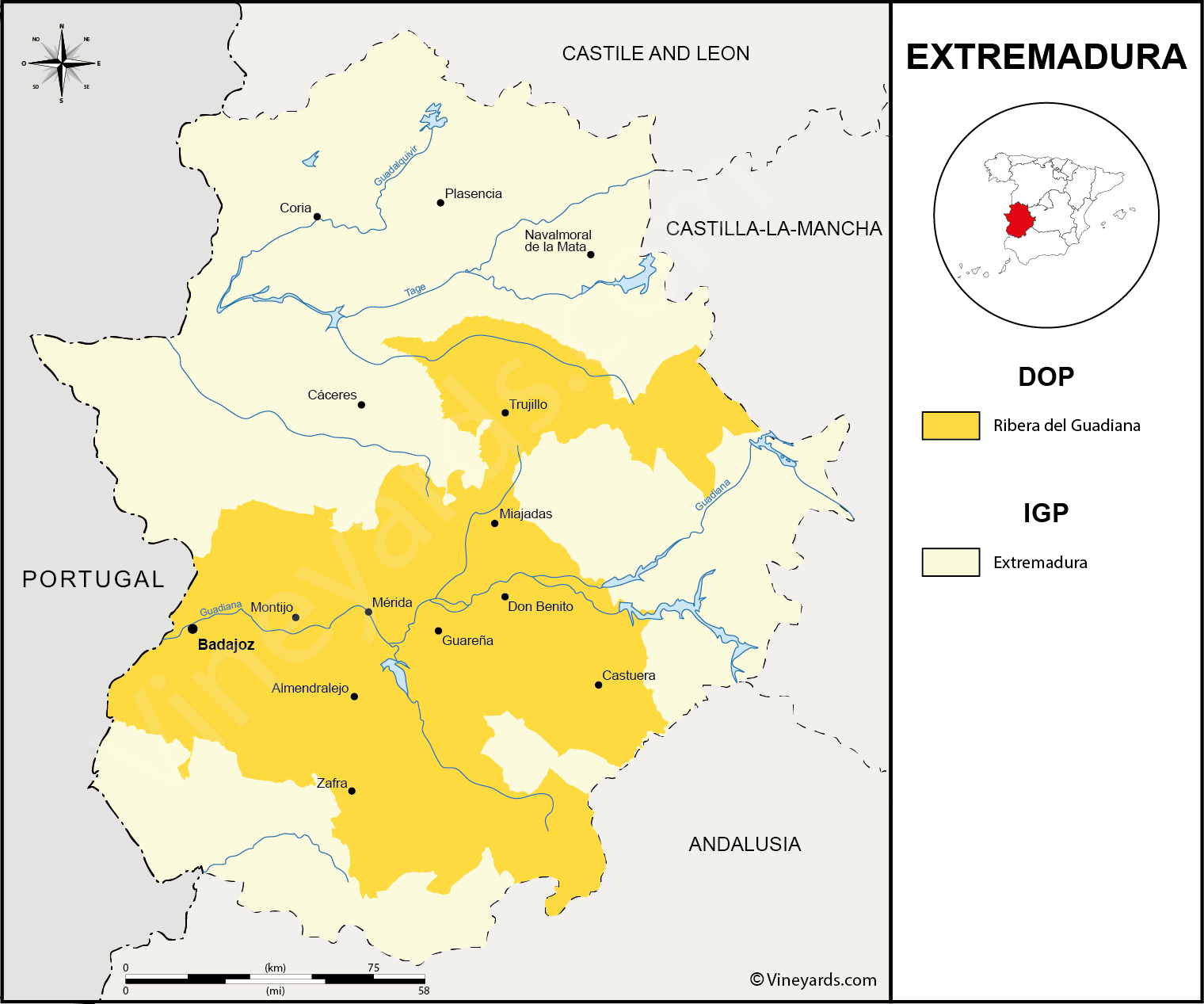 Wine Regions in Extremadura