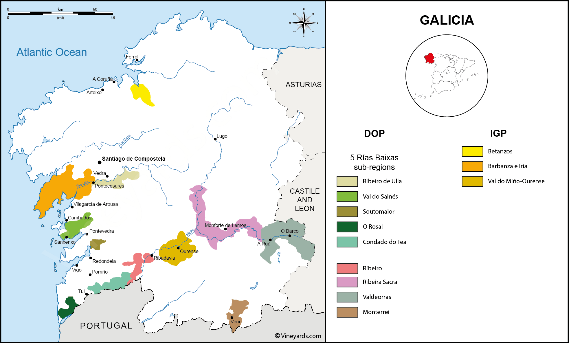 Wine Regions in Galicia