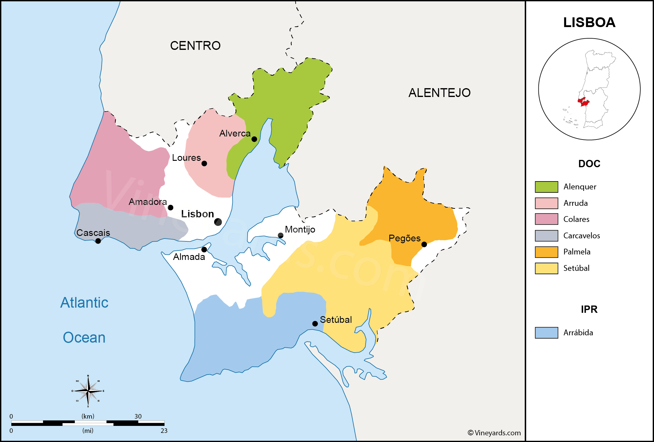 Wine Regions in Lisboa