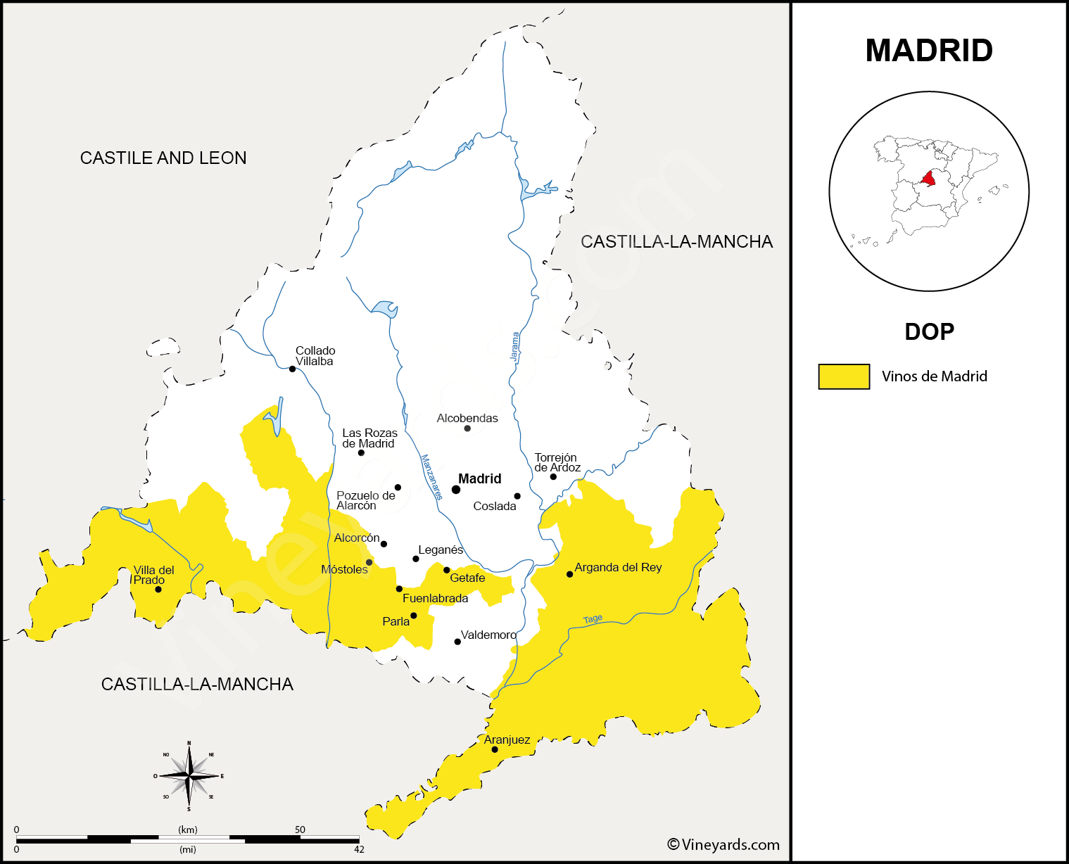 Wine Regions in Madrid