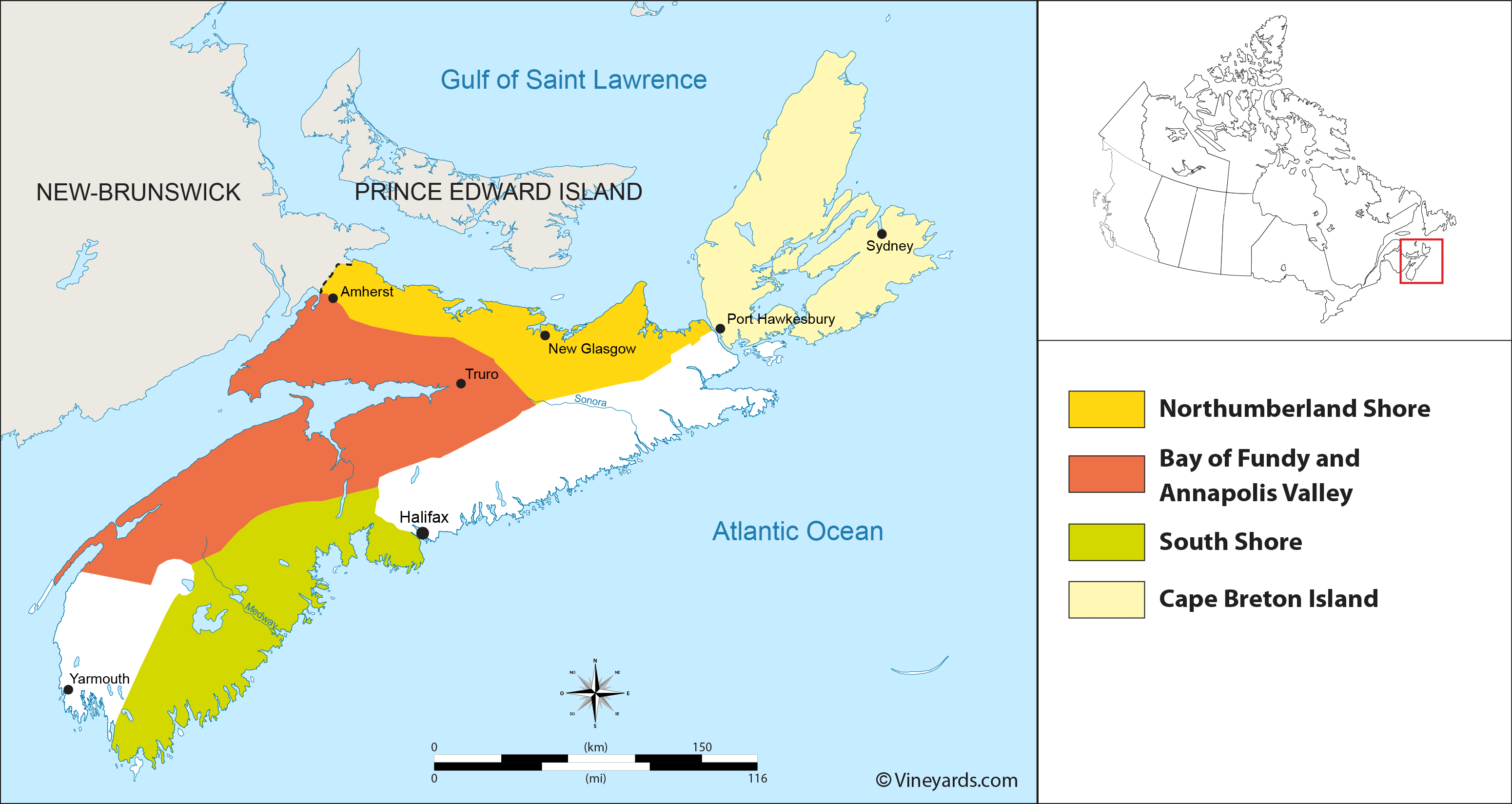 Wine Regions in Nova Scotia