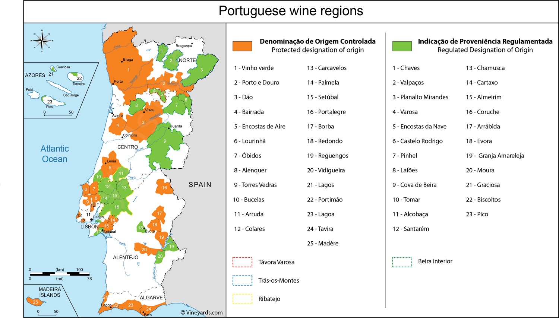 Wine Regions in Portugal
