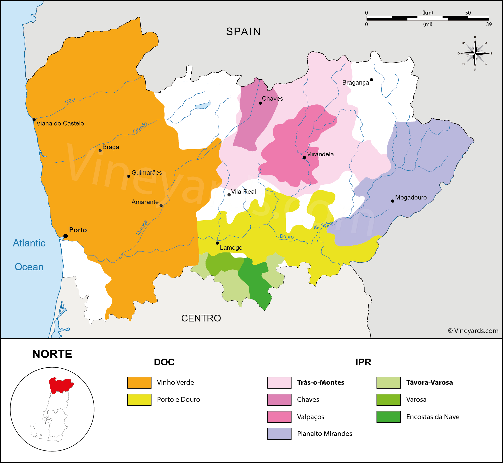 Wine Regions in Norte