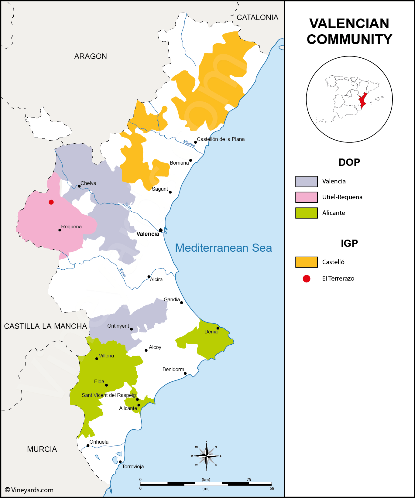 Wine Regions in Valencia
